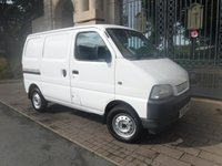 USED 2003 03 SUZUKI CARRY 1.3 SWB 1d  ****FINANCE ARRANGED****PART EXCHANGE WELCOME***2 KEYS*13 INCH WHEELS*AMFM RADIO*SIDE SLIDING DOORS*1OWNER