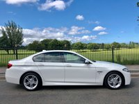 2015 BMW 5 SERIES 2.0 525D M SPORT 4d AUTO 215 BHP £16995.00