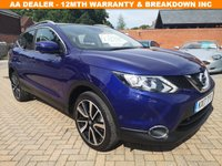 USED 2017 17 NISSAN QASHQAI 1.5 DCI TEKNA 5d 108 BHP FSH+LEATHER+SATNAV+CRUISE+BT