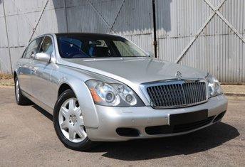 2004 MAYBACH 62 5.5 V12 4d AUTO 550 BHP - VAT Q £59990.00