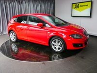 USED 2010 60 SEAT LEON 1.6 CR TDI ECOMOTIVE SE 5d 103 BHP £0 DEPOSIT FINANCE AVAILABLE, AIR CONDITIONING, AUX INPUT, CD/MP3/RADIO, CLIMATE CONTROL, CRUISE CONTROL, FOLDING/HEATED DOOR MIRRORS, START/STOP SYSTEM, STEERING WHEEL CONTROLS, TRIP COMPUTER, USB INPUT