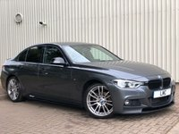 USED 2017 17 BMW 3 SERIES 2.0 320D M SPORT 4DR 188 BHP AUTO 19s+PRO NAV+BLK LEATHER
