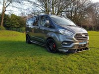 2018 FORD TRANSIT CUSTOM 2.0L 300 AUTOMATIC LIMITED DCAB 130BHP REMOVABLE REAR SEATS £26750.00