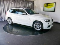 USED 2011 11 BMW X1 2.0 XDRIVE20D M SPORT 5d AUTO 174 BHP £0 DEPOSIT FINANCE AVAILABLE, AIR CONDITIONING, AUX INPUT, BMW PROFESSIONAL, CLIMATE CONTROL, CRUISE CONTROL, HEATED SEATS, HILL DESCENT CONTROL, STEERING WHEEL CONTROLS, TRIP COMPUTER