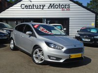 2016 FORD FOCUS 1.5 TDCI ZETEC NAVIGATION 5d + £0 TAX £7990.00