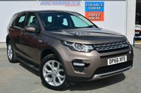 USED 2017 66 LAND ROVER DISCOVERY SPORT 2.0 TD4 HSE 5d 7 Seat Family SUV in a Stunning Colour and Massive High Spec LAND ROVER SERVICE HISTORY