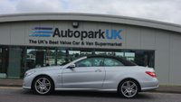 2010 MERCEDES-BENZ E CLASS 3.0 E350 CDI BLUEEFFICIENCY SPORT 2d AUTO 231 BHP £9695.00