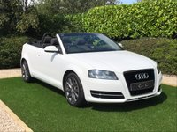 USED 2010 10 AUDI A3 1.2 TFSI 2d 103 BHP A SUPERB EXAMPLE OF THIS POPULAR CONVERTIBLE WITH LOW RUNNING COSTS BLACK CLOTH TRIM GRAPHITE ALLOYS PARKING SENSORS BLUETOOTH RADIO CD EXCELLENT CONDITION