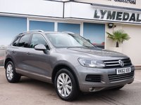 USED 2012 62 VOLKSWAGEN TOUAREG 3.0 V6 SE TDI BLUEMOTION TECHNOLOGY 5d AUTO 242 BHP