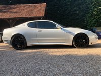 USED 2004 54 MASERATI GRANSPORT F1,FERRARI POWERED V8,CARBON,RARE PEARL WHITE, STUNNING   73000 KM = 45000 MILES