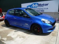 USED 2009 59 RENAULT CLIO 2.0 VVT Renaultsport 3dr BLACK ALLOYS FINANCE AVAILABLE