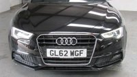 USED 2013 62 AUDI A5 2.0 TFSI S line Cabriolet 2dr 1KEEPER-FULL-S/H-NEW CLUTCH