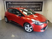 USED 2014 14 RENAULT CLIO 1.1 DYNAMIQUE MEDIANAV 5d + SERVICE HISTORY + 2KEYS