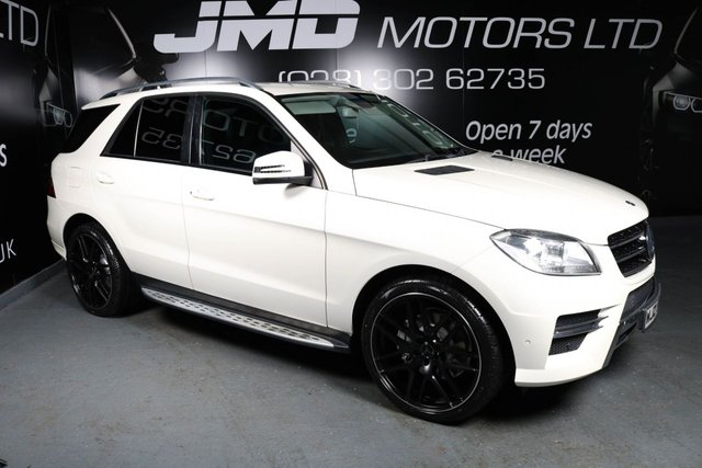 2013 MERCEDES-BENZ M CLASS ML250 BLUETEC SPORT NIGHT EDITION STYLE AUTO 204 BHP (FINANCE AND WARRANTY)