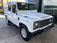 2013 LAND ROVER DEFENDER 110 COUNTY UTILITY WAGON 2.2 TD 170 BHP  £23995.00