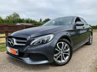 USED 2015 65 MERCEDES-BENZ C CLASS 2.1 C220 D SPORT 4d AUTO 170 BHP SAT NAV HEATED SEATS REVERSE CAMERA FULL HISTORY