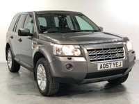 USED 2007 57 LAND ROVER FREELANDER 2.2 TD4 HSE 5d AUTO 159 BHP TOP SPEC VEHICLE WITH MANY EXTRAS