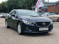 USED 2014 64 MAZDA 6 2.2 D SE-L 4d 148 BHP PARKING AID +   2 KEYS +  FULL YEAR MOT +   17 INCH ALLOYS +  CLIMATE CONTROL +  1 PREVIOUS KEEPER +