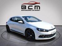 2014 VOLKSWAGEN SCIROCCO 2.0 GT TDI BLUEMOTION TECHNOLOGY 2d 140 BHP £9485.00