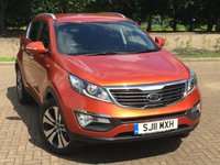 2011 KIA SPORTAGE 2.0 FIRST EDITION 5d 160 BHP £7995.00
