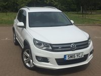 2015 VOLKSWAGEN TIGUAN 2.0 R LINE TDI BLUEMOTION TECHNOLOGY 4MOTION 5d 148 BHP £13895.00