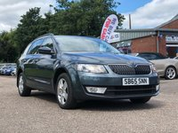 USED 2015 65 SKODA OCTAVIA 2.0 SE BUSINESS TDI DSG 5d AUTO 148 BHP NAVIGATION SYSTEM +   BLUETOOTH +  PARKING AID +   FULL YEAR MOT +  1 OWNER FROM NEW +  SERVICE RECORD +