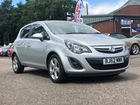 USED 2012 62 VAUXHALL CORSA SXI 16V 1.2  PRIVACY GLASS +  SERVICE RECORD +  ALLOY WHEELS +   2 PREVIOUS KEEPERS +  FULL YEAR MOT +