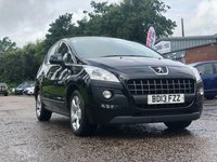 USED 2013 13 PEUGEOT 3008 1.6 E-HDI ACTIVE 5d AUTO 115 BHP FULL SERVICE RECORD *  PARKING AID *  1 PREVIOUS KEEPER *  MOT JULY 2020 *  17 INCH ALLOYS *