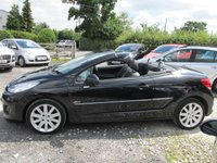 USED 2010 10 PEUGEOT 207 1.6 CC ALLURE 2d 1OWNER LEATHER ONE OWNER SERVICE HISTORY