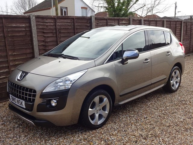 USED 2010 10 PEUGEOT 3008 1.6i PETROL EXCLUSIVE *PAN ROOF*CRUISE*CLIMATE*FULL HISTORY*LONG MOT*