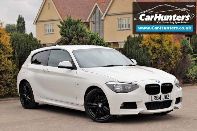 2014 64 BMW 1 SERIES 2.0 116D M SPORT 3d AUTO 114 BHP