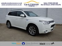 USED 2014 64 MITSUBISHI OUTLANDER 0.0 PHEV GX 4H 5d AUTO 162 BHP Full Service History NAV A/C Buy Now, Pay Later Finance!
