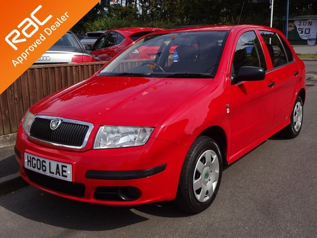 USED 2006 06 SKODA FABIA 1.2 CLASSIC HTP 5DOOR, 2 OWNERS *ONLY 67,000 MILES*AIR CONDITIONING*HISTORY*MOT*