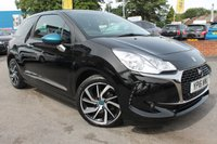 USED 2016 16 DS DS 3 1.6 BLUEHDI ELEGANCE S/S 3d 118 BHP JUST ONE OWNER FROM NEW - BRILLIANT SERVICE HISTORY - FREE ROAD TAX