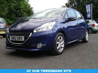 USED 2012 12 PEUGEOT 208 1.4 ACTIVE HDI 5d 68 BHP AT OUR TWEEDBANK SITE