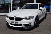 2016 BMW 4 SERIES 2.0 420I M SPORT GRAN COUPE 4d AUTO 181 BHP £17950.00