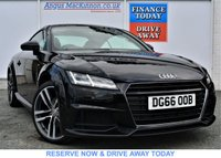 USED 2016 66 AUDI TT 1.8 TFSI S LINE 2d Petrol Coupe PREVIOUSLY LOCALLY OWNED