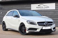 USED 2015 M MERCEDES-BENZ A CLASS 2.0 A45 AMG 4MATIC 5d AUTO 360 BHP PAN ROOF / AMG DRIVER PACK