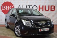USED 2009 TOYOTA AVENSIS 2.0 T4 D-4D 4 Door Saloon FULL LEATHER 125 BHP