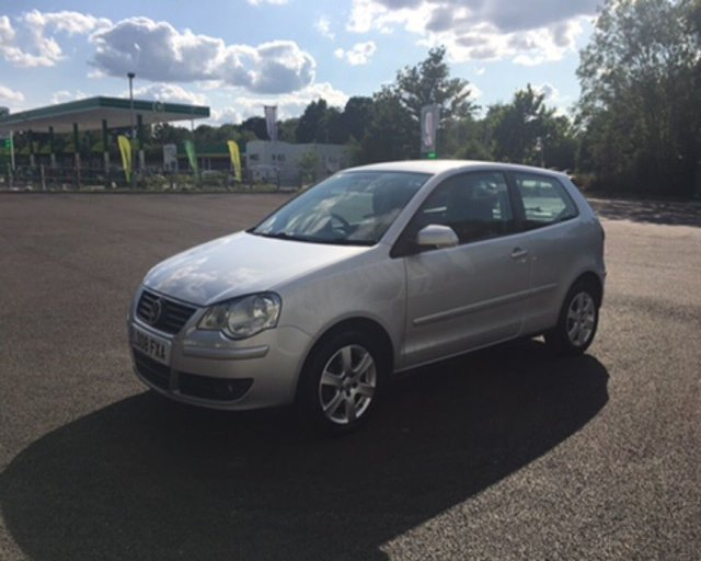 2008 08 VOLKSWAGEN POLO 1.4 MATCH 3d