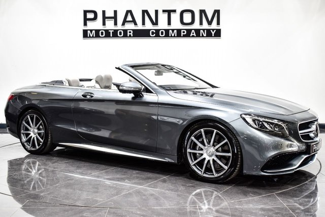 USED 2016 08 MERCEDES-BENZ S CLASS 5.5 AMG S 63 2d AUTO 577 BHP