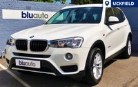 USED 2014 14 BMW X3 2.0D XDRIVE SE 5d AUTO 188 BHP One Private Owner & Full BMW Servicing History; Satellite Navigation, Front & Rear Parking Sensors, Bluetooth Connectivity with Audio Streaming, Dual Climate & Cruise Control and Full Leather with Heated Front Seats...