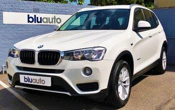 2014 BMW X3 2.0D XDRIVE SE 5d AUTO 188 BHP £16840.00