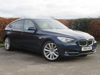 USED 2010 10 BMW 5 SERIES 3.0 530D SE GRAN TURISMO 5d AUTOMATIC * BLUETOOTH * AUTO * SATELLITE NAVIGATION *