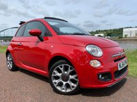 USED 2014 64 FIAT 500 1.2 C S 3d 69 BHP **SPECIAL PASODOBLE RED PAINT**