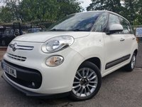 USED 2013 63 FIAT 500L 1.2 MULTIJET LOUNGE DUALOGIC 5d AUTO 85BHP 2KEYS+PAN ROOF+20 ROAD TAX+CD+AIRCON+ALLOYS+PARK+LEATHER+HISTORY+