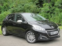 USED 2017 67 PEUGEOT 208 1.2 PURETECH ALLURE 5d * 1 OWNER FROM NEW * 128 POINT AA INSPECTED * LOW MILEAGE CAR *