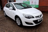 USED 2015 15 VAUXHALL ASTRA 1.6 DESIGN CDTI ECOFLEX S/S 5d 108 BHP +ONE OWNER +FREE TAX +SERVICED