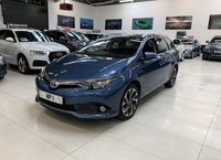 USED 2016 16 TOYOTA AURIS 1.8 VVT-I DESIGN TOURING SPORTS 5d AUTO 99 BHP
