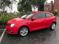 USED 2014 14 SEAT IBIZA 1.4 TOCA 3d 85 BHP Great First Car